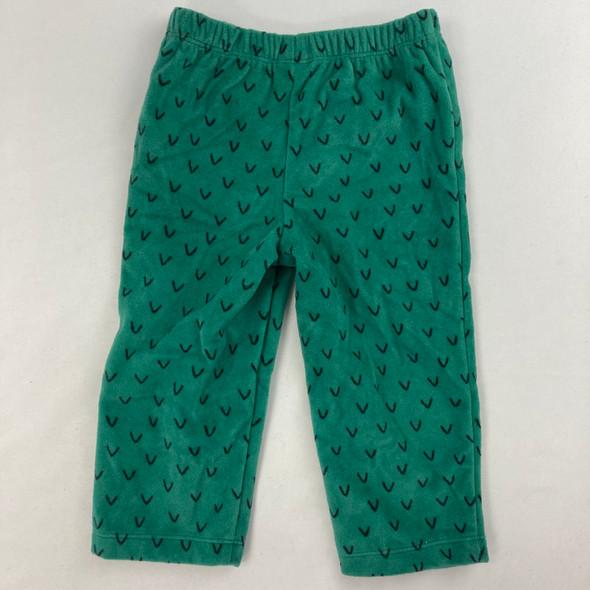 Fleece Pattern Pajama Pants 12 mth