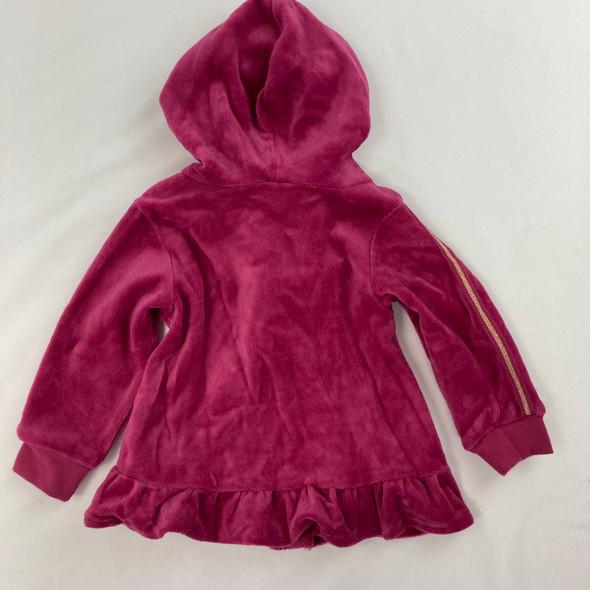 Velour Stripe Sweatshirt 6-9 mth