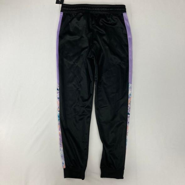 Shiny Lilac Side Sweatpants Medium