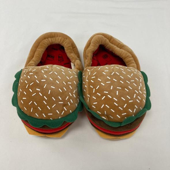 Hamburger Slippers 9/10C