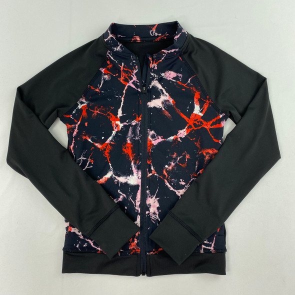 Colorful Marble Zip-up 6X
