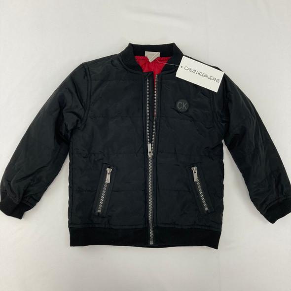 Black Logo Jacket 4T