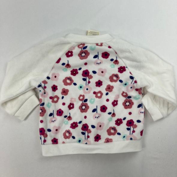 Floral Athletic Sweatshirt 12 mth