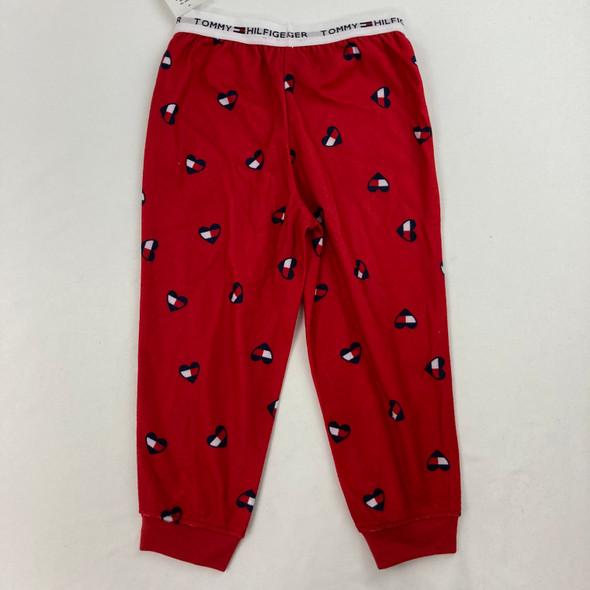 Heart Pajama Bottoms XXS 2/3 yr