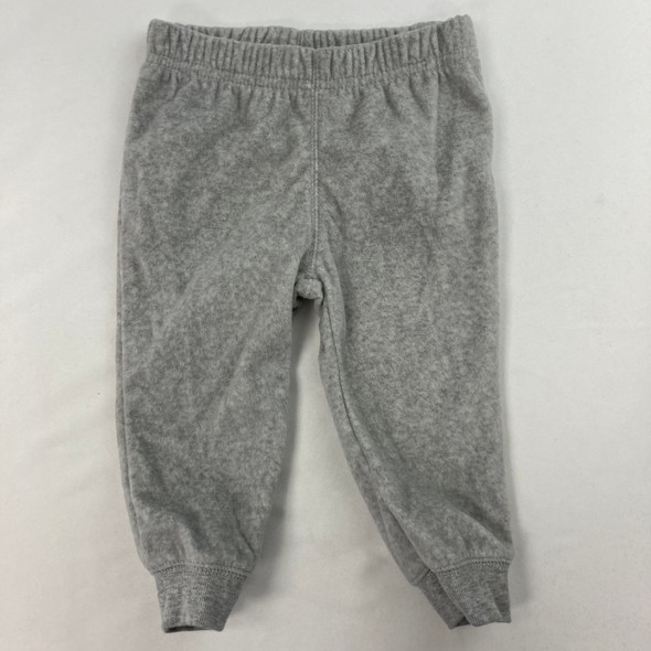 Gray Fleece Sweatpants 12 mth