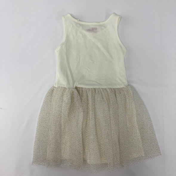 Cream and Gold Dress 3T
