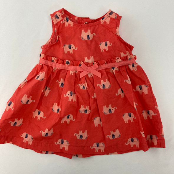 Elephant Dress 3 mth