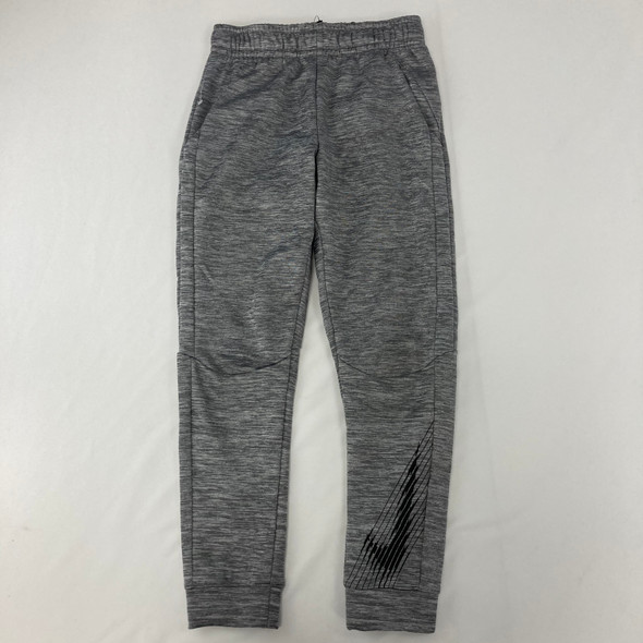 Striped Logo Athletic Pants Small