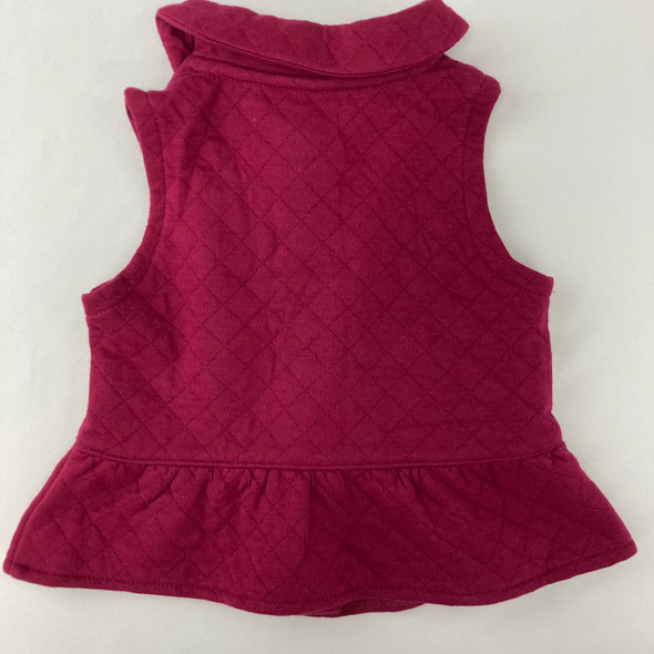 Quilted Vest 9 mth