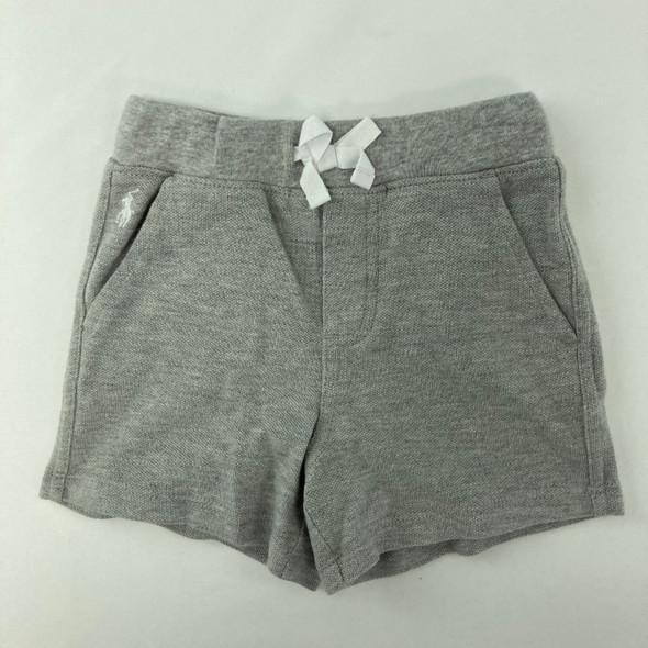 Solid Gray RL Shorts 6 mth
