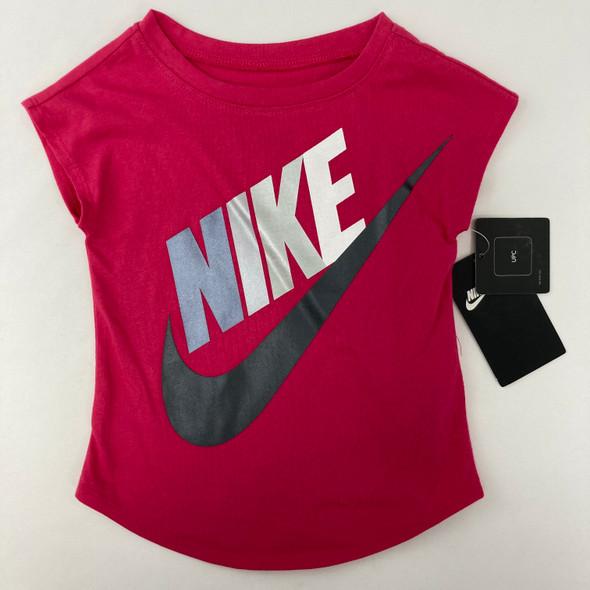 Hot Pink Logo Tee 18 mth