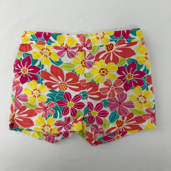 Floral Print Shorts 18 mth