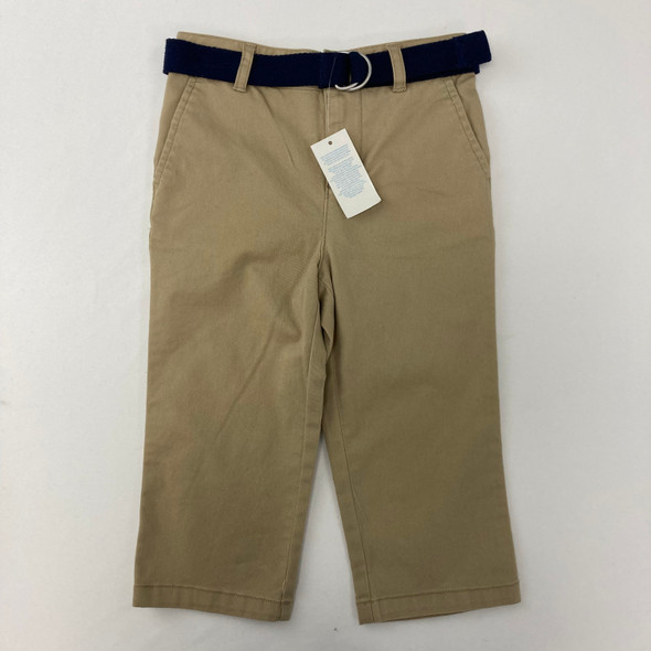 Khaki Belted Pants 18 mth
