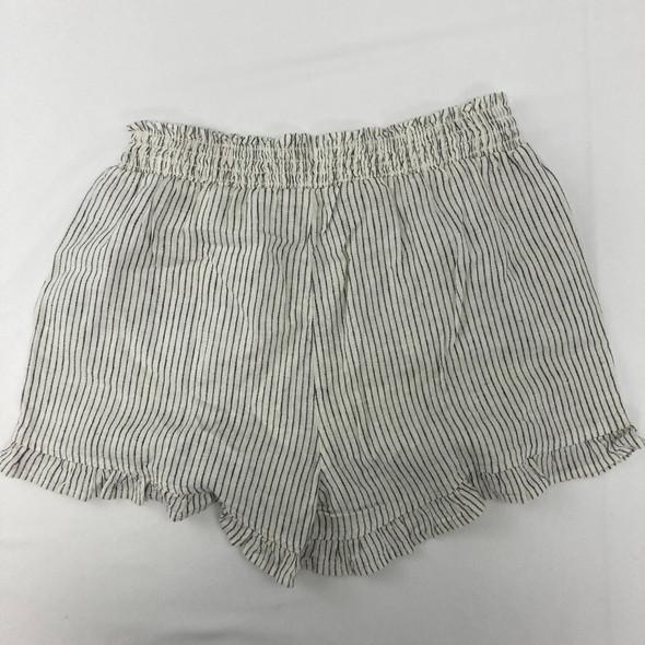 Ivory Stripe Shorts XL
