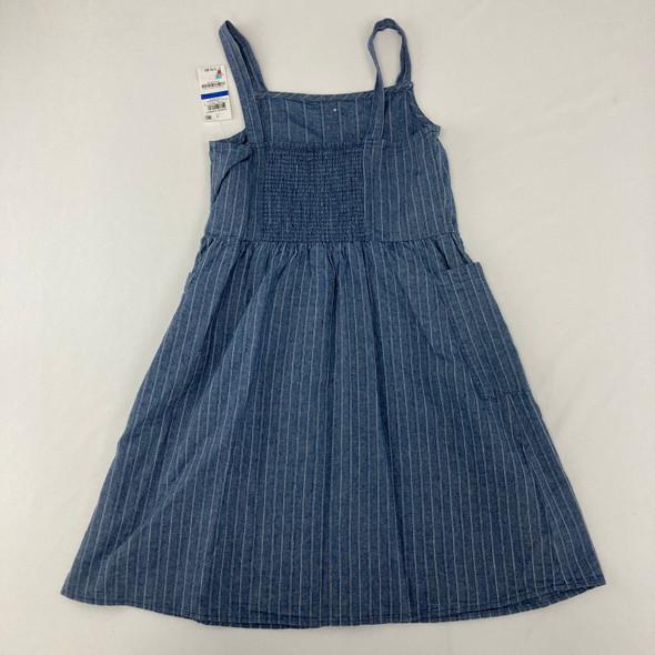 Stripe Button Dress XL