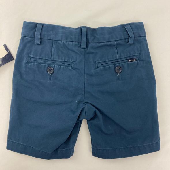 Clancy Blue Khaki Shorts 2/2T