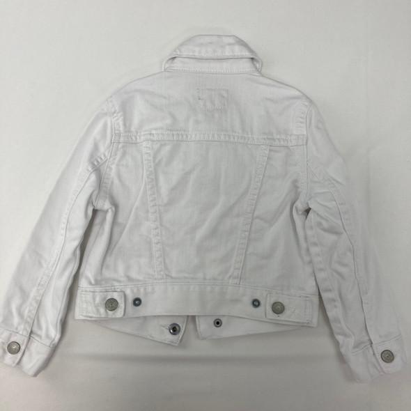White Denim Jacket 3/3T