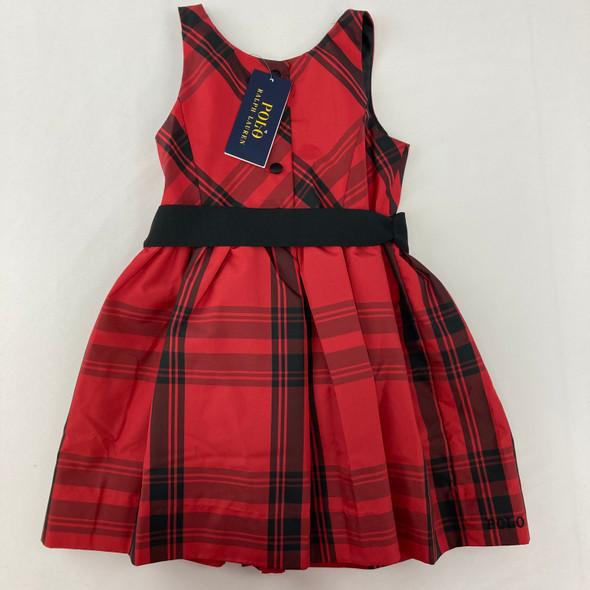 Plaid RL Dress 3/3T