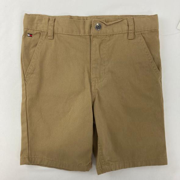 Solid TH Khaki Shorts 4T