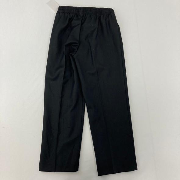 Solid Black Dress Pants 5