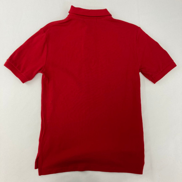 Red Polo Small 8 yr