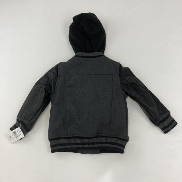 Button Down Soft Jacket 4T
