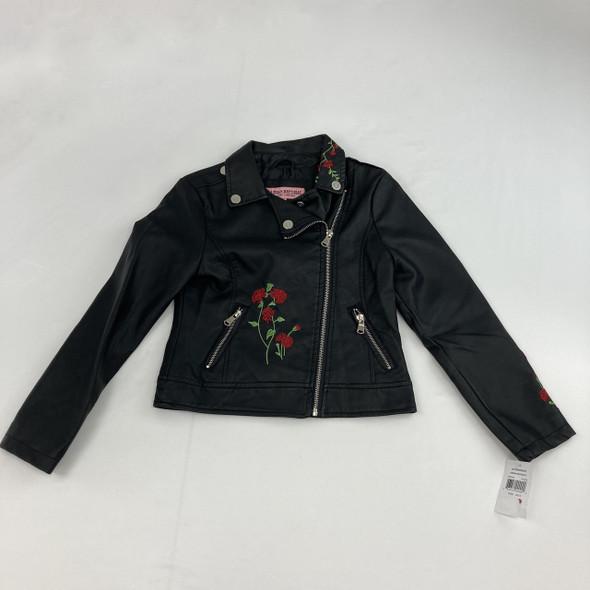 Rose Zip Up Jacket M 10/12 yr