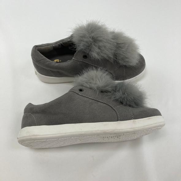 Suede Pom Pom Shoes 13