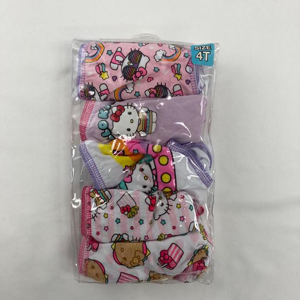 Hello Kitty 5-pack Underwear 4T