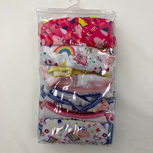 6-Pack Peppa Pig Underwear 2T-3T