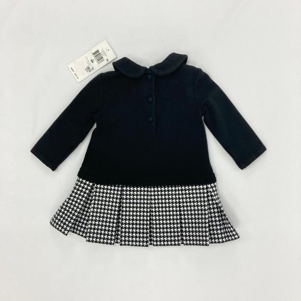 Black Collar Dress 3 mth