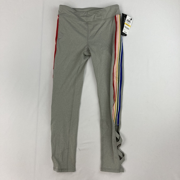 Criss Cross Rainbow Leggings 10-12 yr