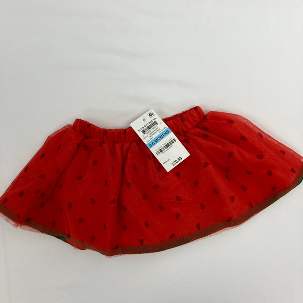 Watermelon Skirt 3-6 mth