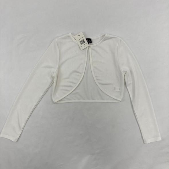 White Cardigan Medium