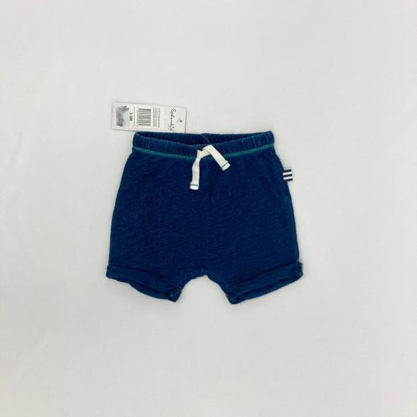 Always Basic Indigo Shorts 3-6 mth