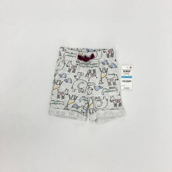 Animal Shorts 3-6 mth