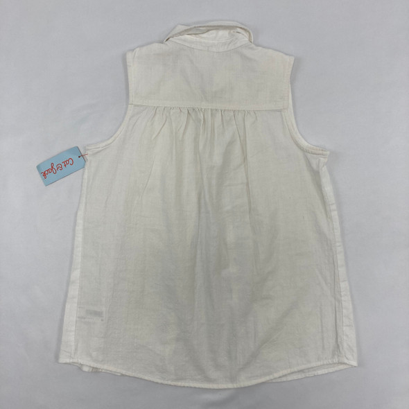 Button Up Tank Large