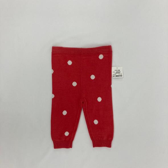 Cozy Dot Leggings 3-6 mth