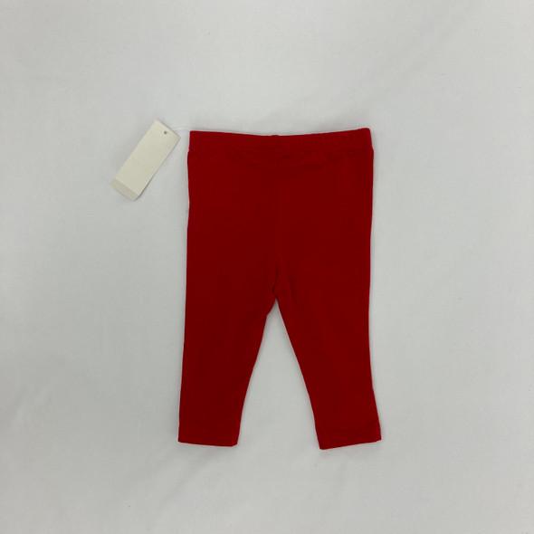 Red All Over Leggings 3-6 mth
