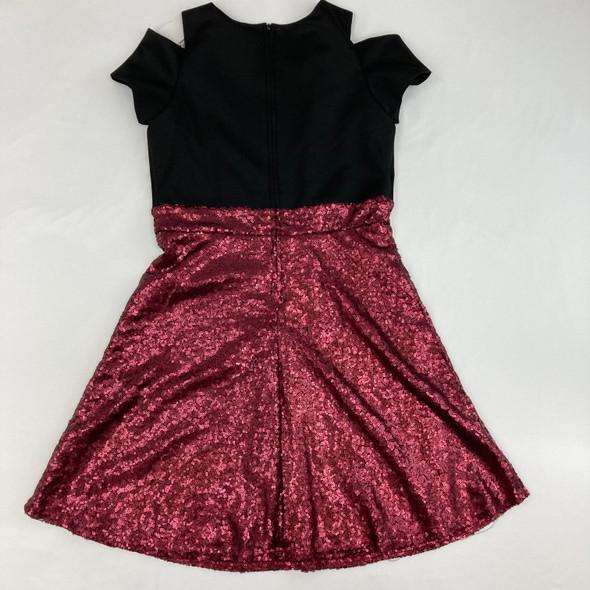 Pink Sequin Dress 14 yr