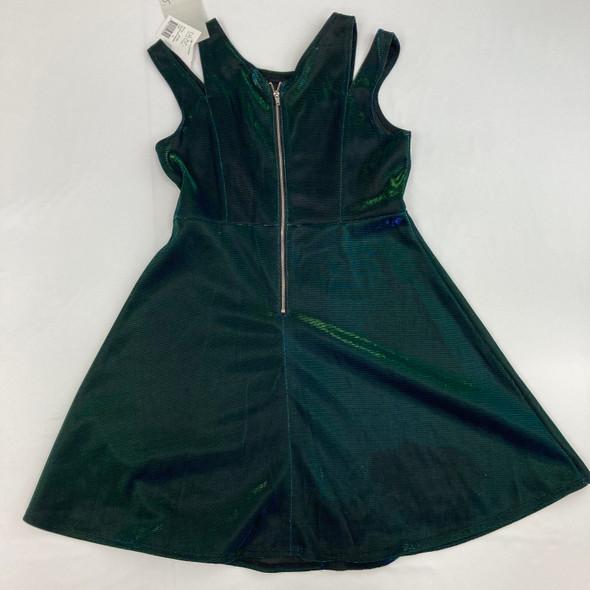 Blue Green Dress 16 yr