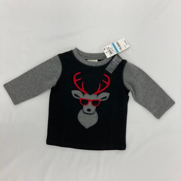 Cool Reindeer Top 3-6 mth