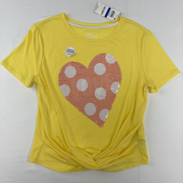 2 Sided Sequin Tee XL
