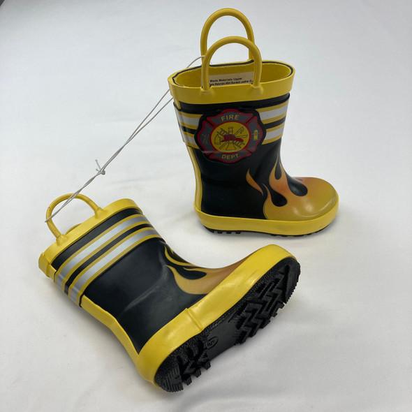 Fire Department Rain Boots Size 5