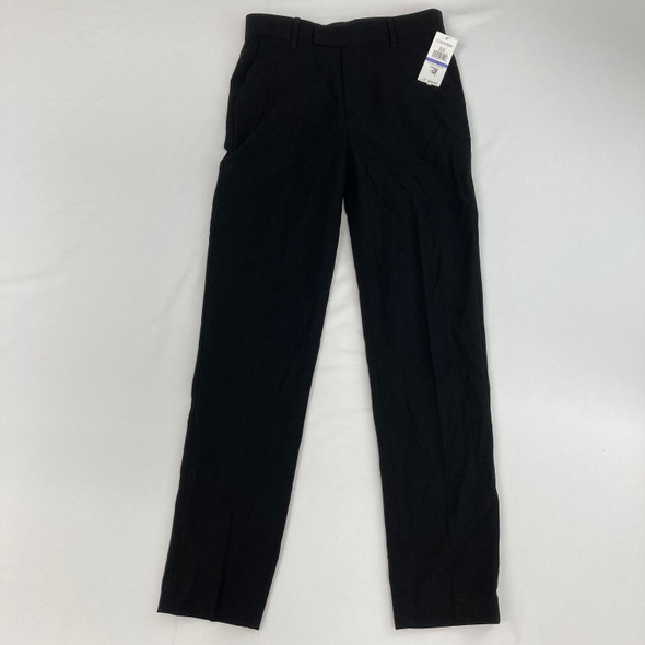 Solid Black Dress Pants 18 yr