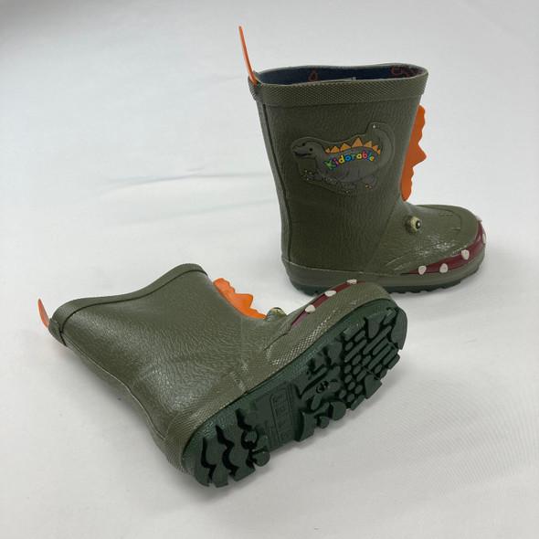 Dinosaur Rain Boots Size 5