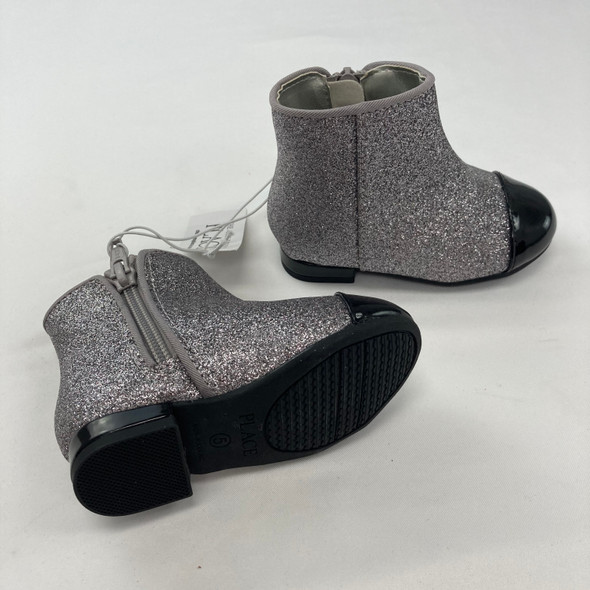Sparkly Heeled Booties Size 5