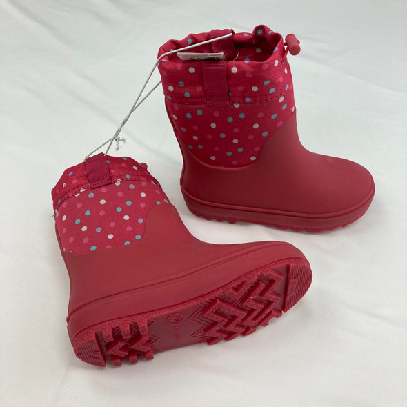 Polka Dot Snow Boots Size 12