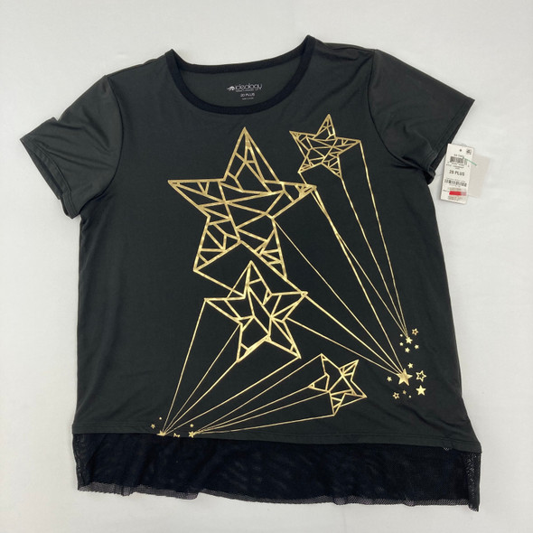 Athletic Tee With Stars 20 Plus yr