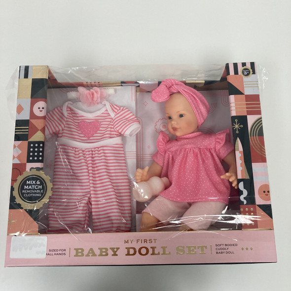 My First Baby Doll Set
